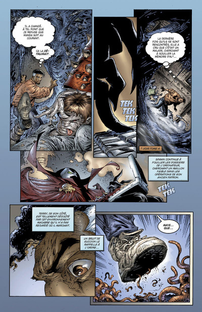 Page 9 spawn tome 6 - évolution