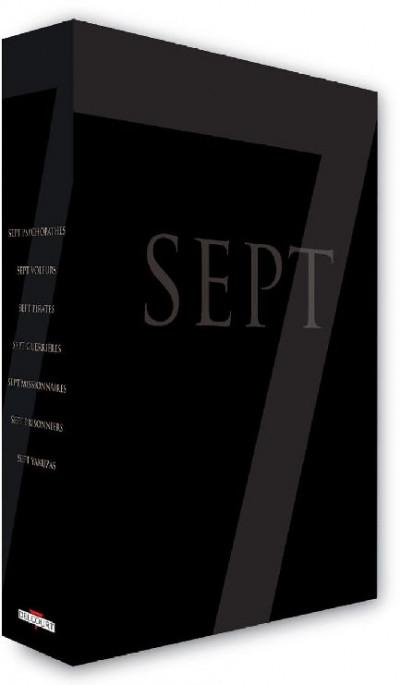 Couverture Sept saison 1 - coffret tomes 1 à 7