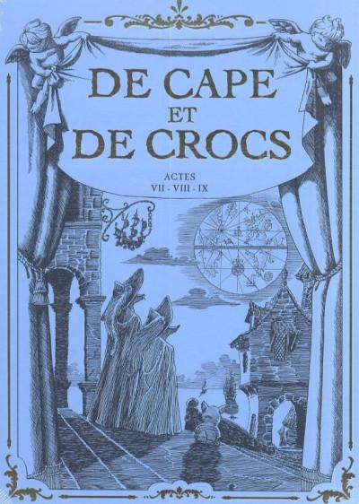 Couverture De cape et de crocs coffret tome 9 + cale