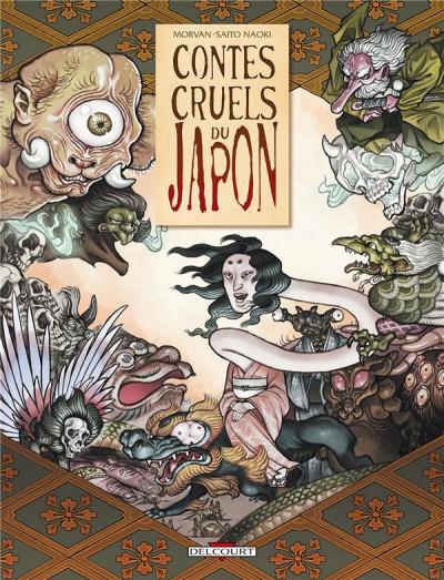 Couverture contes cruels du Japon