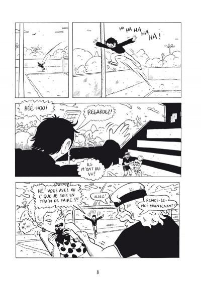 Page 7 l'endormeur tome 1 - château rose