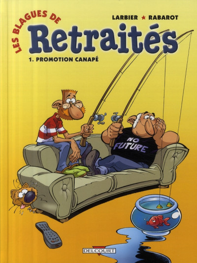 image de les blagues de retraités tome 1 - promotion canapé