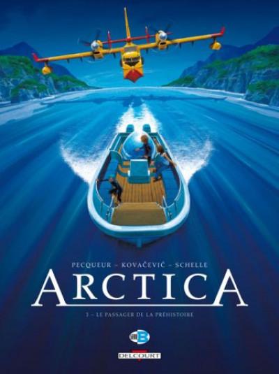 Couverture arctica tome 3 - le passager de la préhistoire
