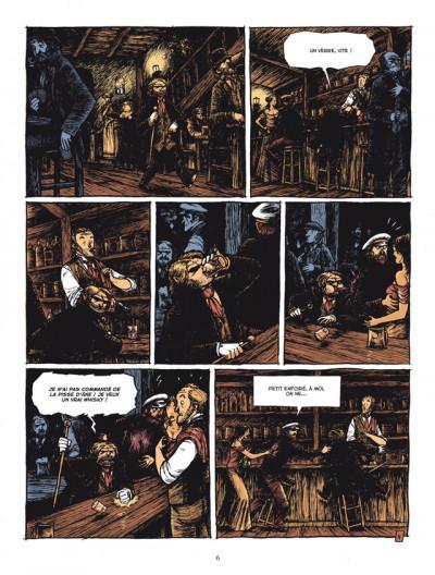 Page 4 L'étrange cas du Dr Jekyll et de Mr Hyde tome 1