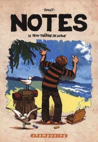 Couverture notes tome 2 - le petit théâtre de la rue
