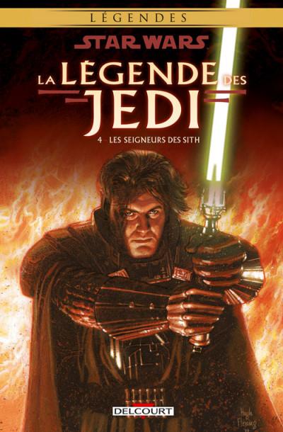 Couverture Star wars - la légende des jedi tome 4