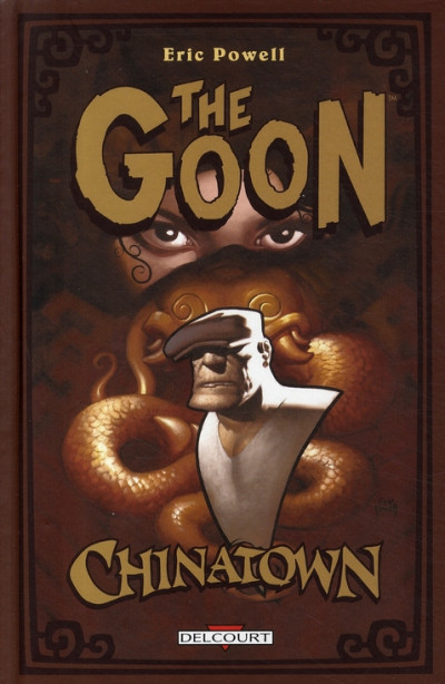 Couverture the goon tome 6 - chinatown