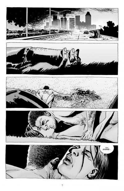 Page 1 walking dead tome 7 - dans l'oeil du cyclone