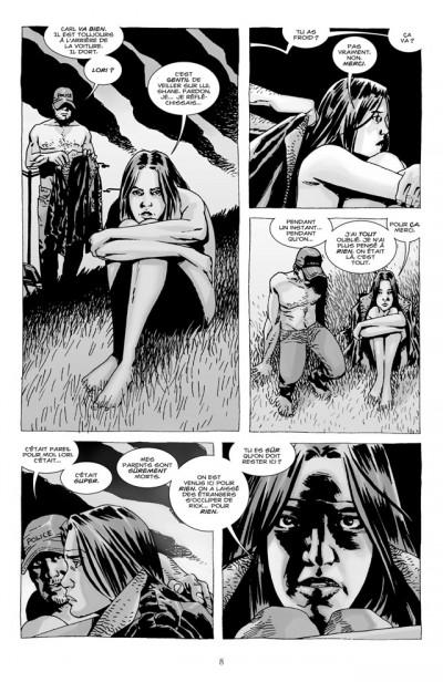 Page 2 walking dead tome 7 - dans l'oeil du cyclone