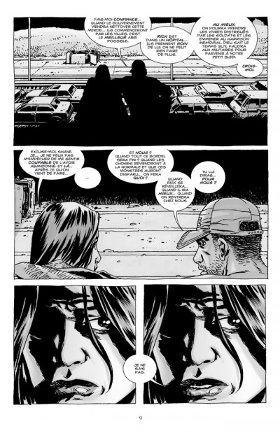 Page 3 walking dead tome 7 - dans l'oeil du cyclone