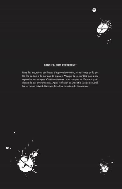 Page 5 walking dead tome 8 - une vie de souffrance