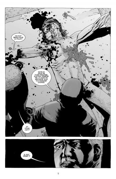 Page 6 walking dead tome 8 - une vie de souffrance