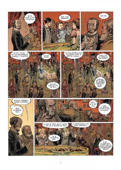 Page 3 Le tombeau d'Alexandre tome 2 - la porte de Ptolémée