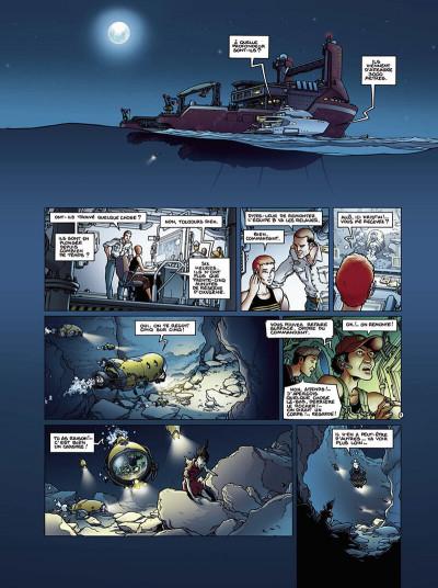 Page 4 golden city tome 8 - les naufragés des abysses