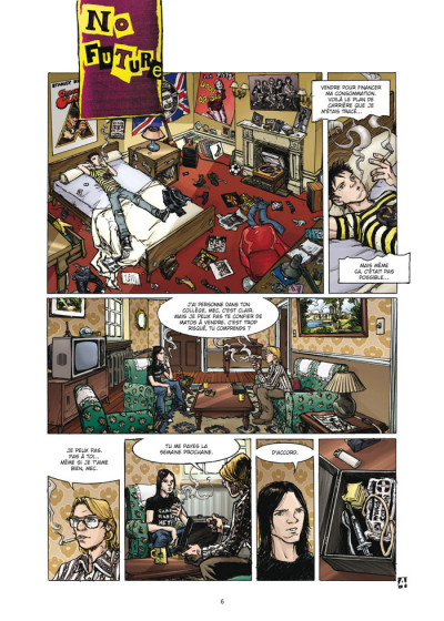 Page 4 le casse tome 4 - la grande escroquerie