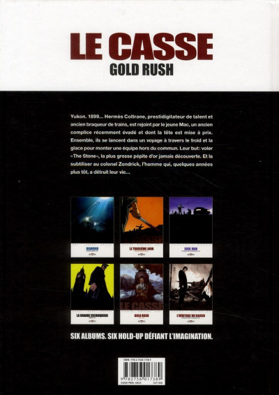 Dos le casse tome 5 - gold rush