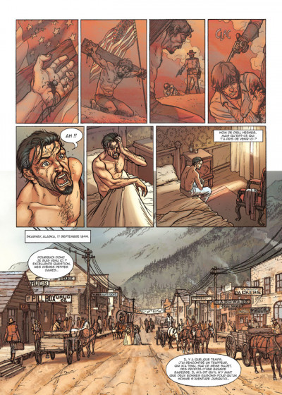 Page 1 le casse tome 5 - gold rush