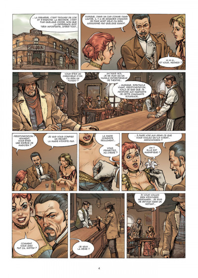 Page 2 le casse tome 5 - gold rush