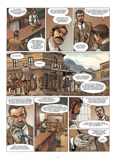 Page 3 le casse tome 5 - gold rush