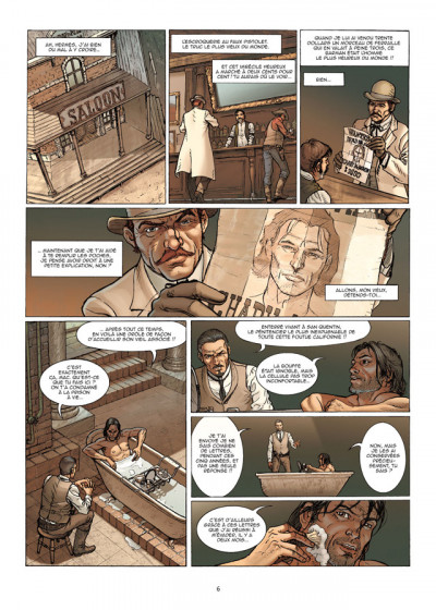 Page 4 le casse tome 5 - gold rush