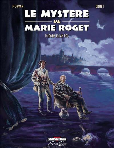 image de le mystère de Marie Roget
