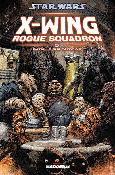 Couverture star wars - x-wing rogue squadron tome 5 - bataille sur tatooine