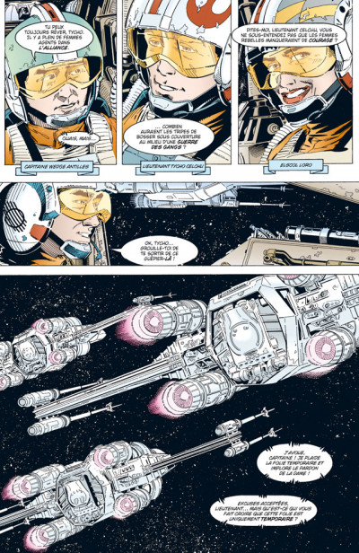 Page 4 star wars - x-wing rogue squadron tome 5 - bataille sur tatooine