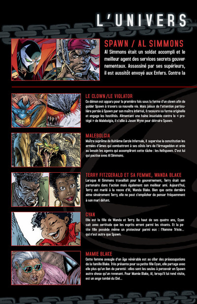 Page 5 spawn tome 7 - crucifixion