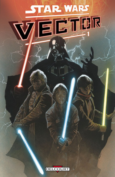 Couverture star wars - vector tome 1