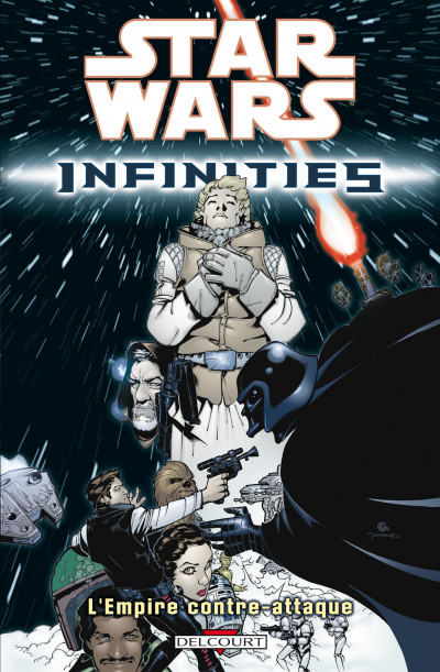 Couverture star wars - infinities tome 2 - l'empire contre-attaque