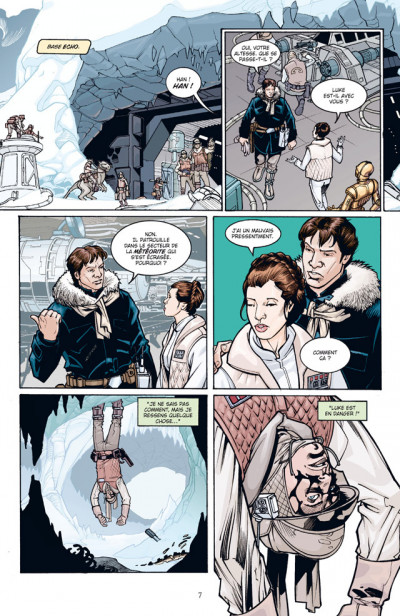 Page 3 star wars - infinities tome 2 - l'empire contre-attaque