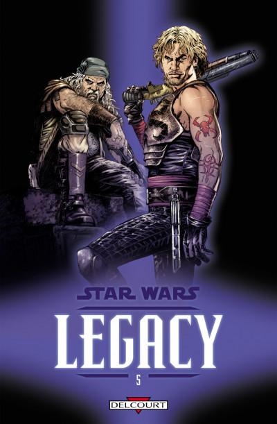 Couverture star wars - legacy tome 5 - loyauté