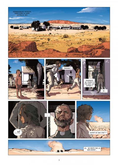 Page 1 le temps du rêve tome 1 - Gallipoli
