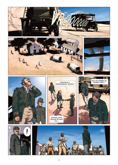 Page 2 le temps du rêve tome 1 - Gallipoli
