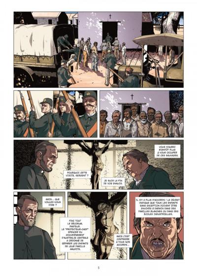 Page 3 le temps du rêve tome 1 - Gallipoli