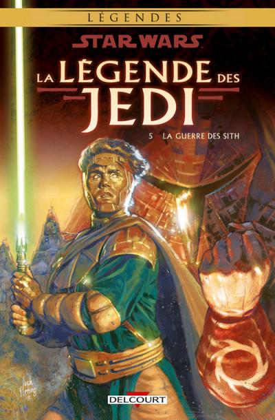 Couverture Star wars - la légende des jedi tome 5