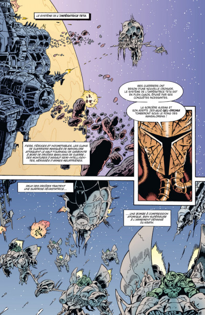 Page 1 Star wars - la légende des jedi tome 5