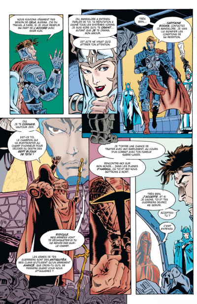 Page 4 Star wars - la légende des jedi tome 5
