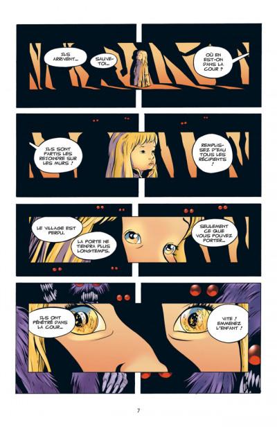 Page 3 bone tome 9 - la couronne d'aiguilles - couleur
