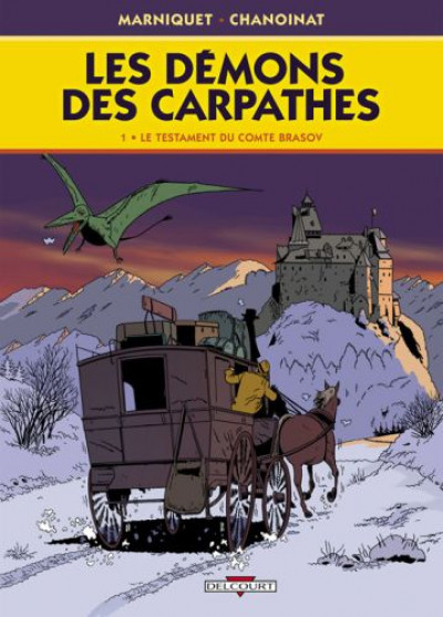 image de les démons des carpathes tome 1 - le testament du comte brasov