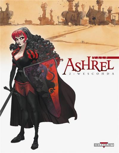 Couverture ashrel tome 2 - wesconda