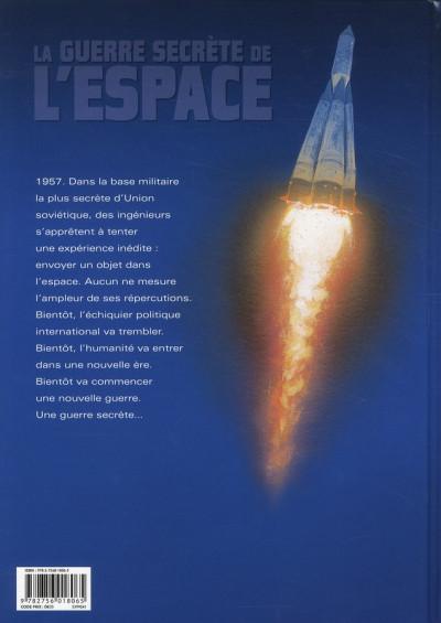 Dos la guerre secrète de l'espace tome 1 - 1957 spoutnik
