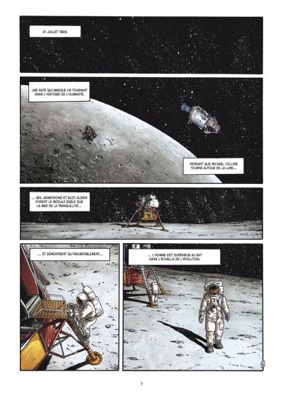 Page 1 la guerre secrète de l'espace tome 1 - 1957 spoutnik