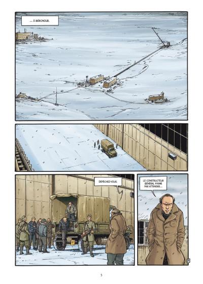Page 3 la guerre secrète de l'espace tome 1 - 1957 spoutnik