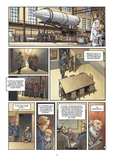 Page 4 la guerre secrète de l'espace tome 1 - 1957 spoutnik