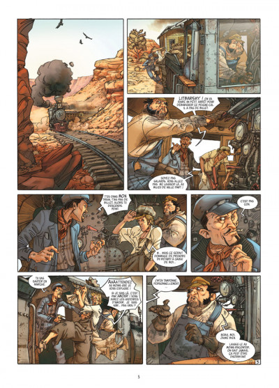 Page 3 L'homme qui n'aimait pas les armes à feu tome 1