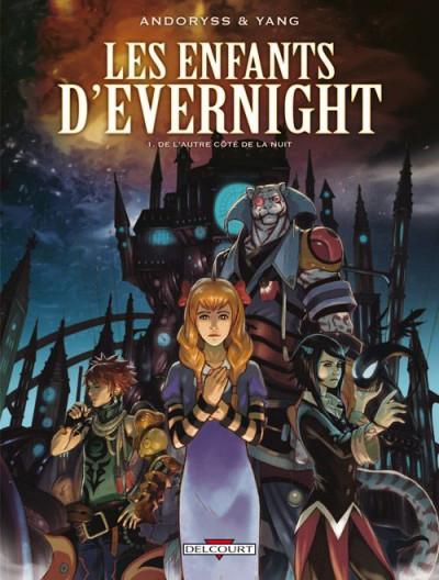 Couverture les enfants d'Evernight tome 1 - de l'autre côté de la nuit