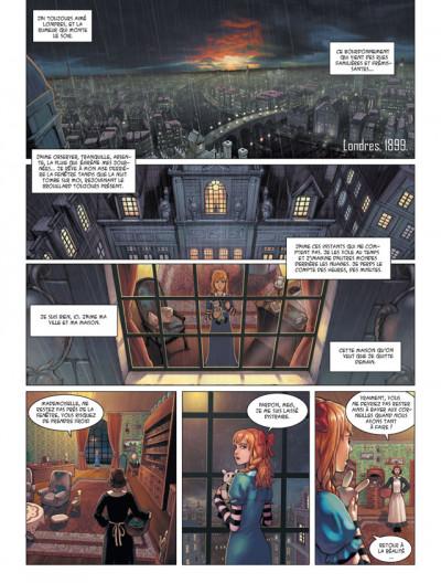 Page 1 les enfants d'Evernight tome 1 - de l'autre côté de la nuit