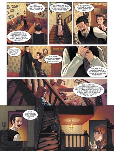 Page 3 les enfants d'Evernight tome 1 - de l'autre côté de la nuit