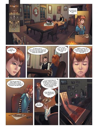 Page 4 les enfants d'Evernight tome 1 - de l'autre côté de la nuit